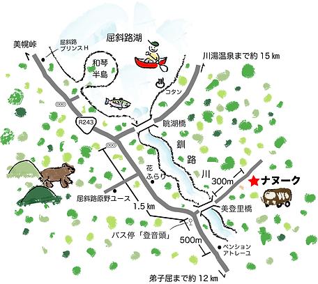 ナヌークの付近図