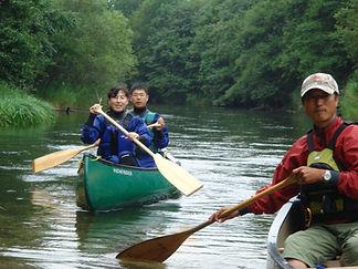 釧路川源流1泊。ゆっくり源流を楽しめます。