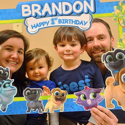 Brandon's First Birthday