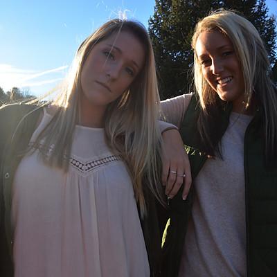 Steph and Jenna