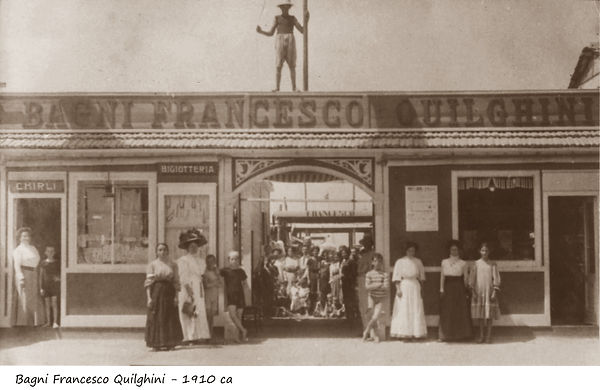Bagni Francesco Quilghini - 1910
