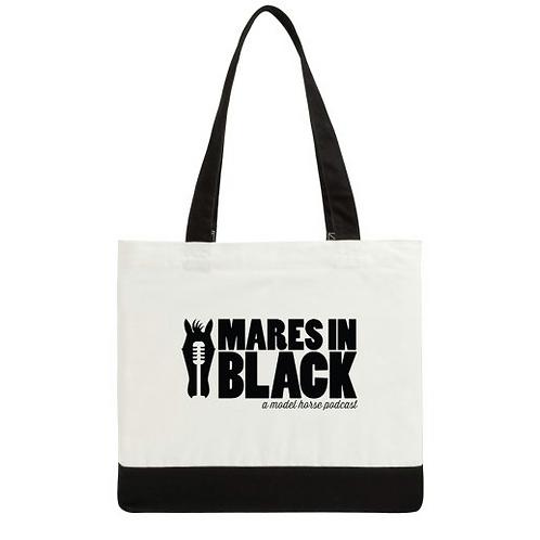 Mares in Black Totebag