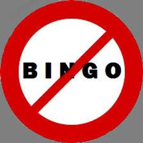 Bingo has been cancelled on Thursday nights throughout the month of January 2021
