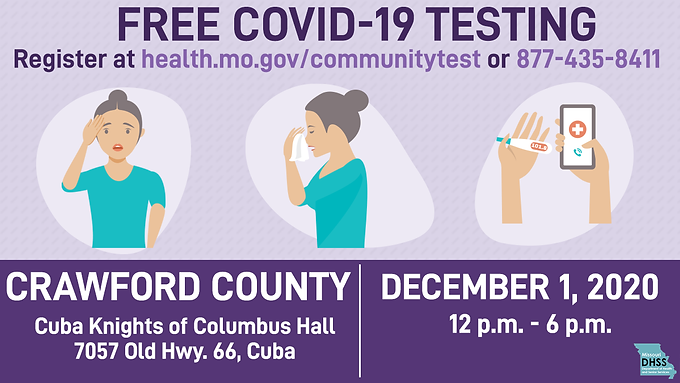Free Covid-19 Tests