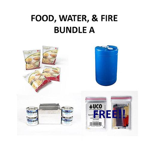 Food, Water, & Fire Bundle A