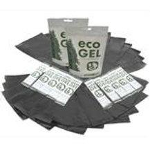 ECO GEL SANITATION PACK - 20 GEL STICKS AND 10 LINER BAGS