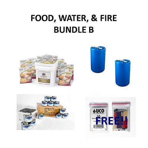 Food, Water, Fire Bundle B