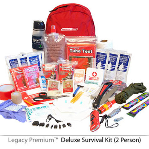 Deluxe 2-Person Survival Kit