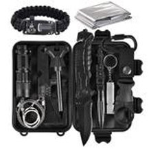EMERGENCY 13 IN 1 COMPACT SURVIVAL TOOL KIT