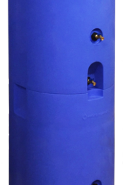 160 Gallon Stackable Water Tank w/water treatment