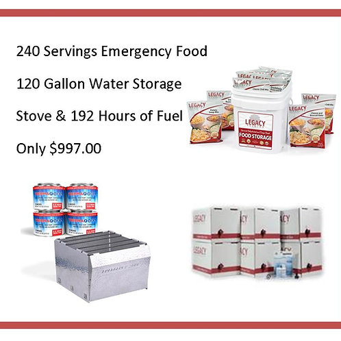 Food, Water, & Fire Package D