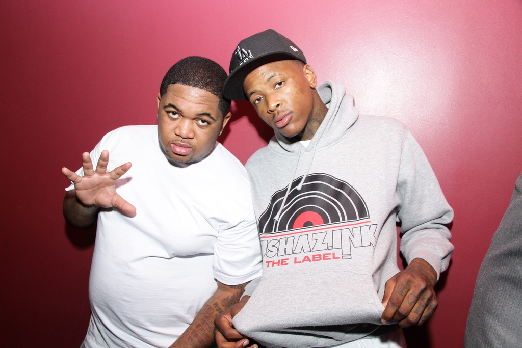 YG at Toast to Urban Music Exec