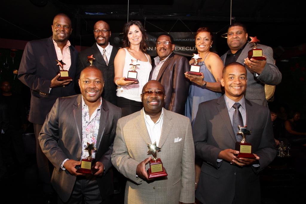 Toast to Urban Music Executives