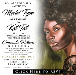 Kat Tat Model Type Art Show