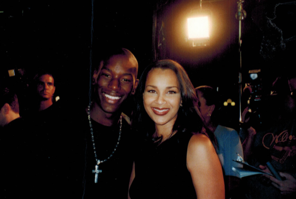 Tyrese & Lisa at Best Man Premiere