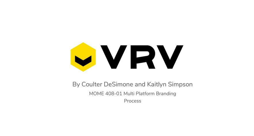 VRV Concept and Process