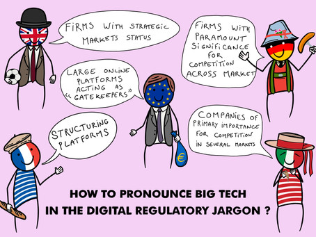 How to pronounce big tech In the digital regulatory jargon?