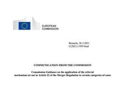 Digital competition Café-article 22 EU Merger Regulation