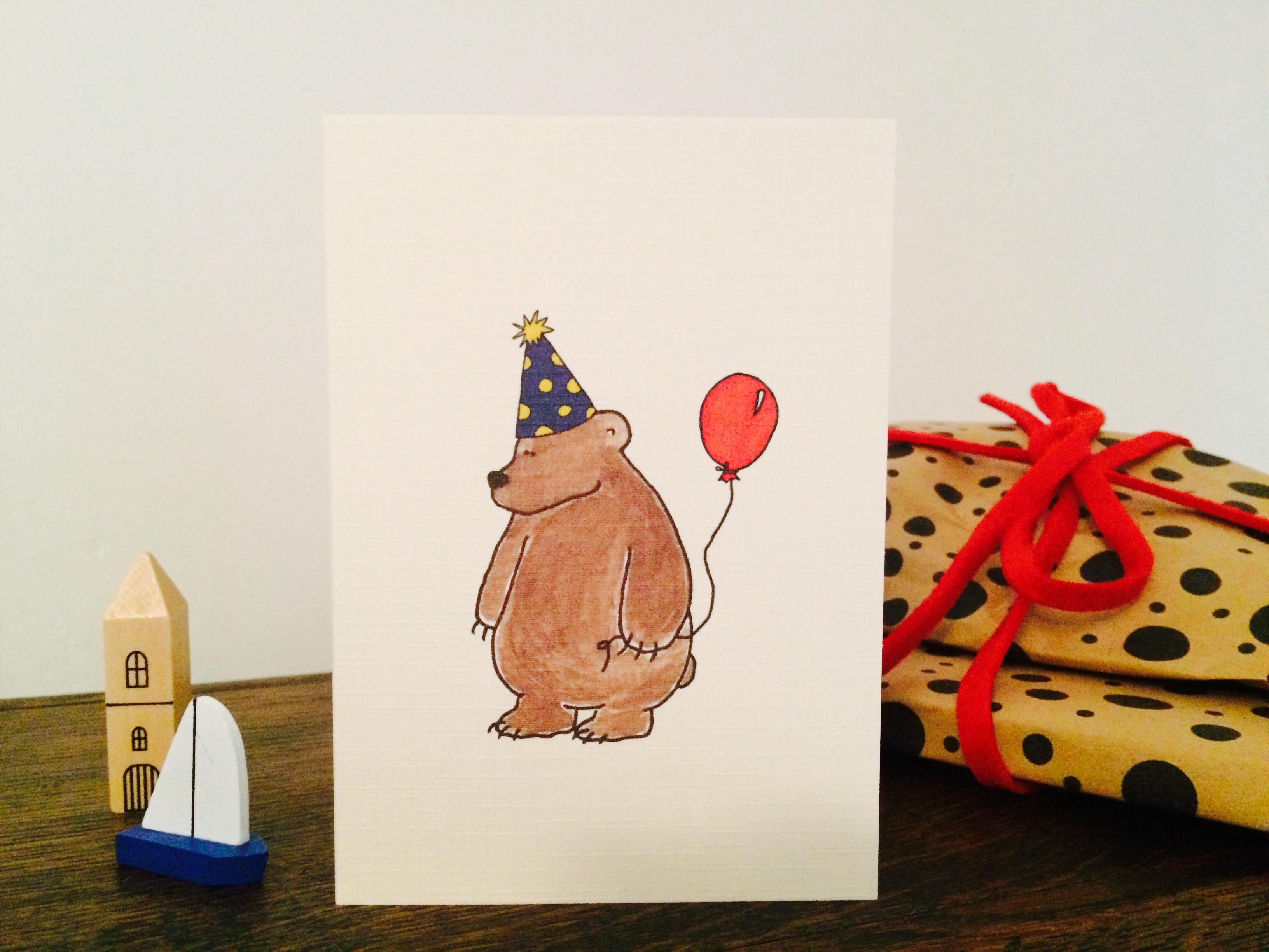 AB098C Party Bear