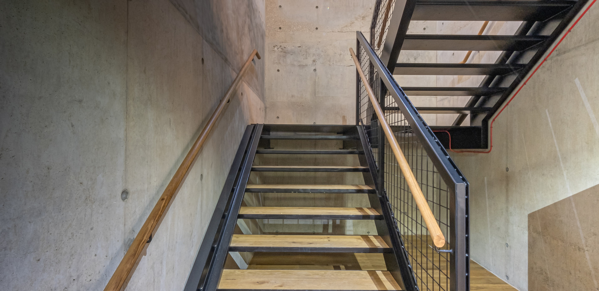 Empire House concrete stairs