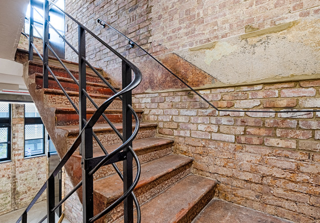 Empire House stairs and balustrade