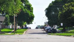 Main street towards business distric