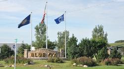 Blu Ox flags