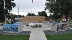Veteran's Park Memorials