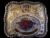 Corporate Sponsor's belt buckle