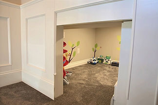 Hidden playroom