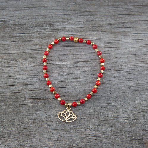 Red Sea Bamboo (dyed) Bracelet