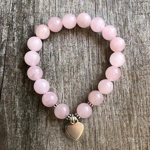 Rose Quartz Bracelet (LG)