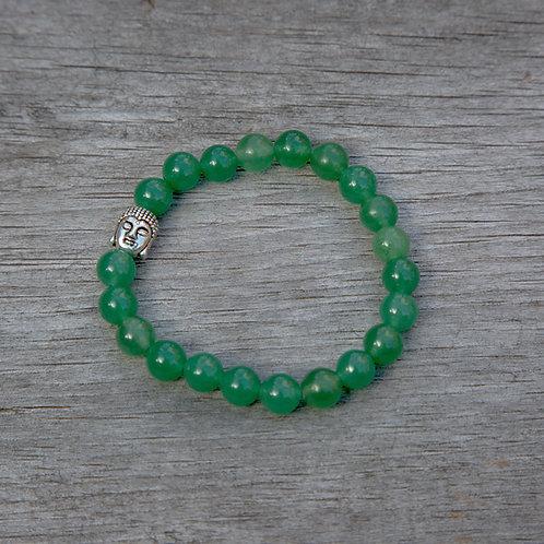 Aventurine Buddha Bracelet