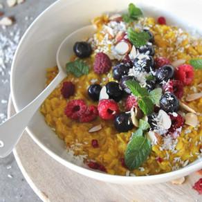 Golden Turmeric Oatmeal