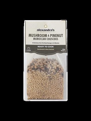 Mushroom & Pinenut Moroccan Couscous