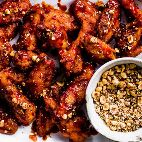 Harissa Hot Wings with Dukkah - Olive Magazine