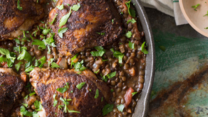 Berbere Chicken with Lentils