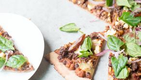Moroccan Lamb and Chickpea Pizza