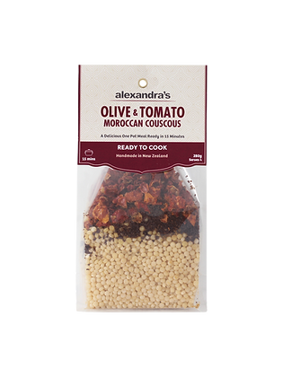 Olive & Tomato Moroccan Couscous