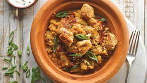 Simple Rose Harissa Chicken Curry