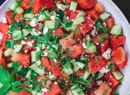 Healthy Recipe: Watermelon Salad