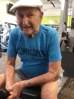 New Centenarian Has No-Nonsense Advice