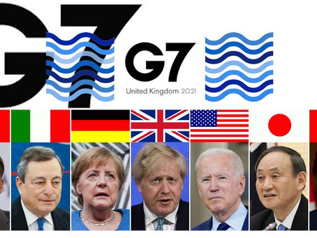 G7 Leaders' Summit 2021: An Overview- June 2021
