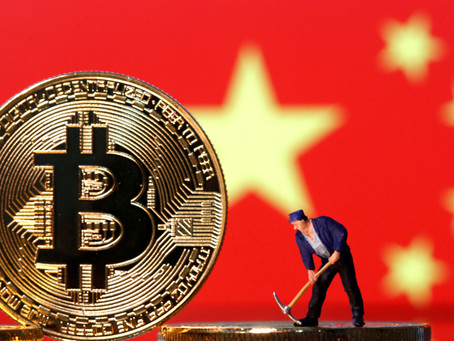 Bitcoin slumps as China Clamps down on Cryptocurrency- July 2021