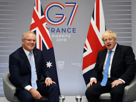 Complaints brew over AU-UK Trade Deal- June 2021