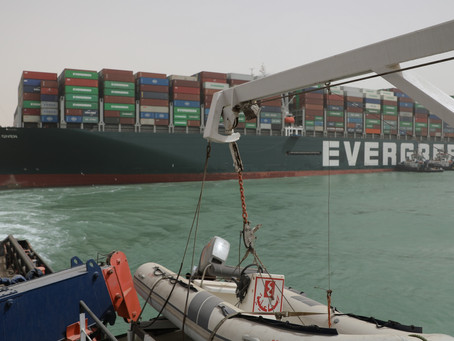 Suez Canal blockage spells disaster for Global Supply Chains- March 2021