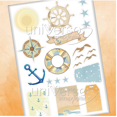 Nautical Collection Cliparts
