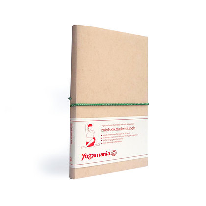 Yogamania Notebook (forest green)