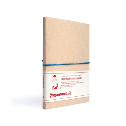 Yogamania Notebook (swedish blue)