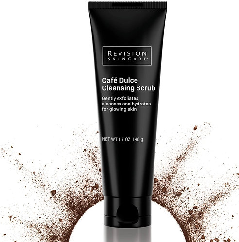 Limited Edition! Café Dulce Cleansing Scrub gently exfoliates, cleanses and hydr